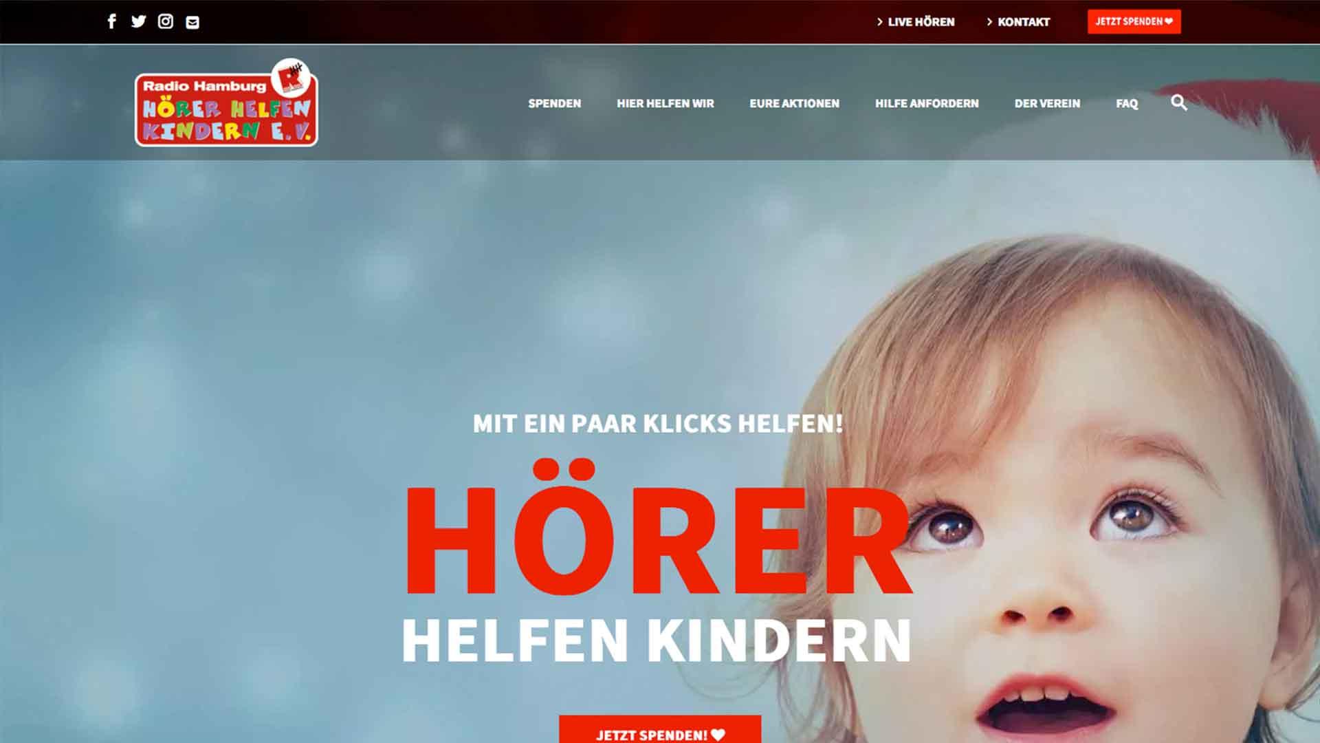 hoerer helfen kindern desktop