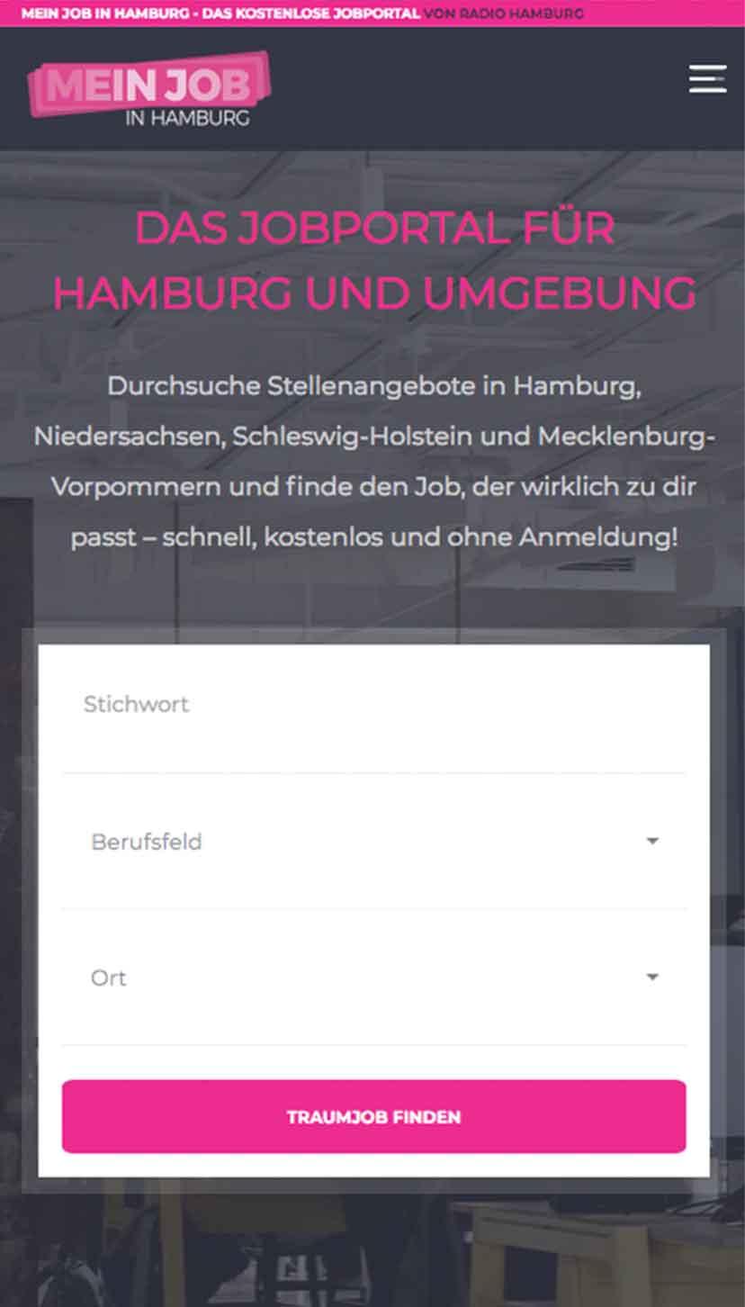meinjob in hamburg mobile