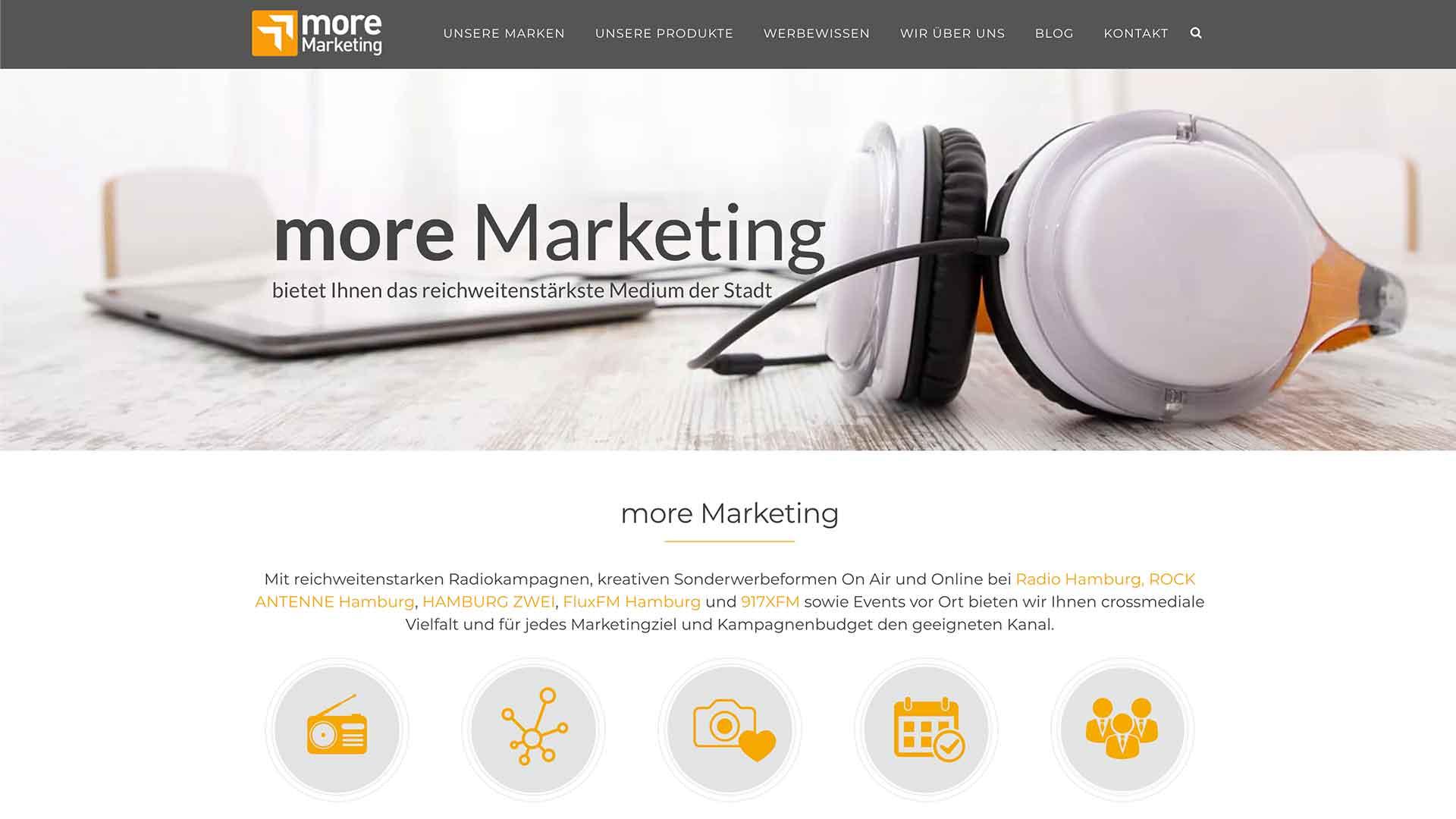 more marketing cliente referencia proyecto