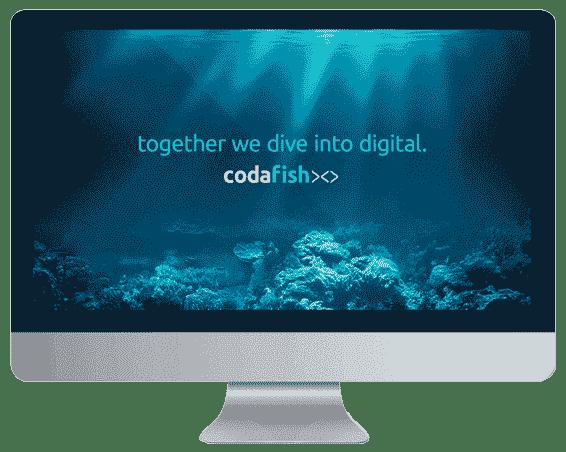 desktop codafish screen together we dive into digital